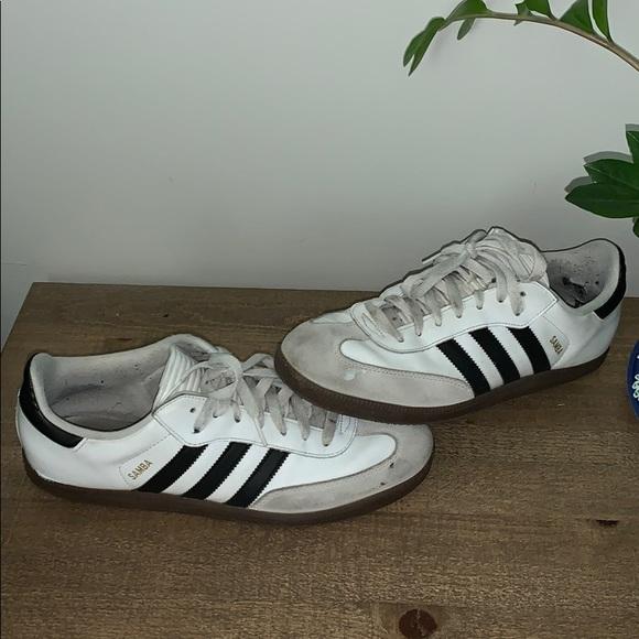 new york pretty cheap popular brand Men's Adidas Samba Classic (Size 10.5)